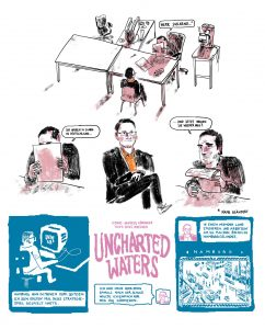Uncharted Waters - Comic-Reportage, Seite 1