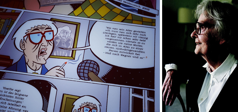 Wie Erika Fuchs Goethe Und Schiller In Disney Comics Schmuggelte