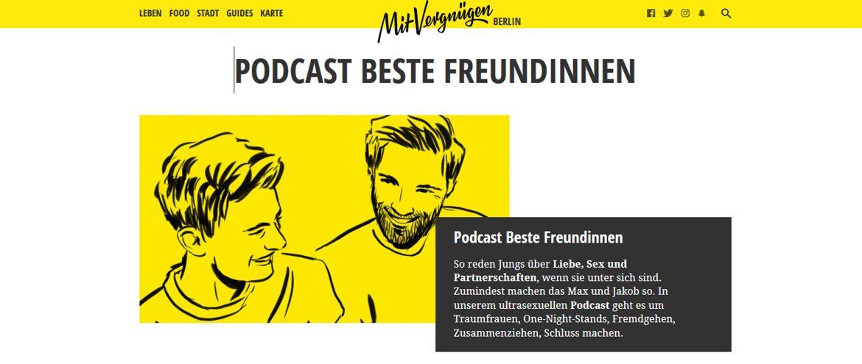 Screenshot Beste Freundinnen - Sexpodcast