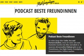 Screenshot Beste Freundinnen - Sexpodcast