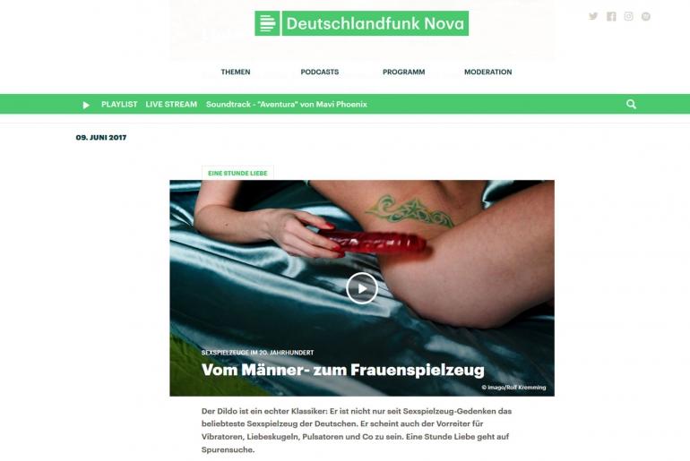 Screenshot: Sex-Podcast: Eine Stunde Liebe