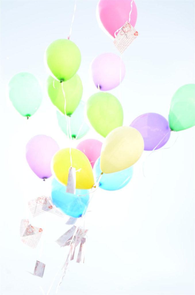 Balloms steigen auf