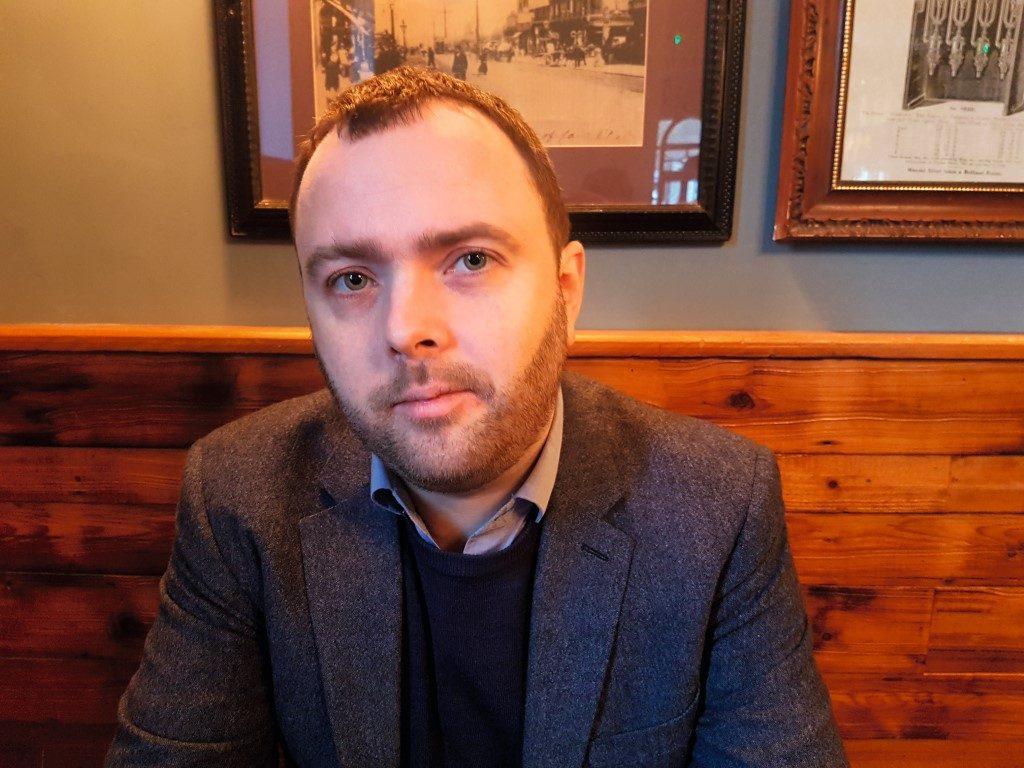 Bruno Vincent, 38, britischer Schriftsteller