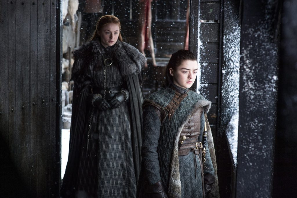 Sansa Stark und Arya Stark © HBO