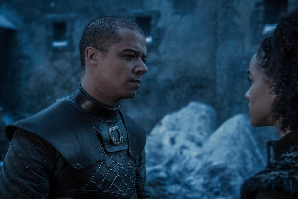 Greyworm und Missandei © HBO
