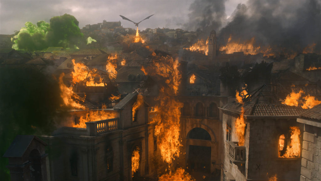 Kings Landing in Flammen © HBO