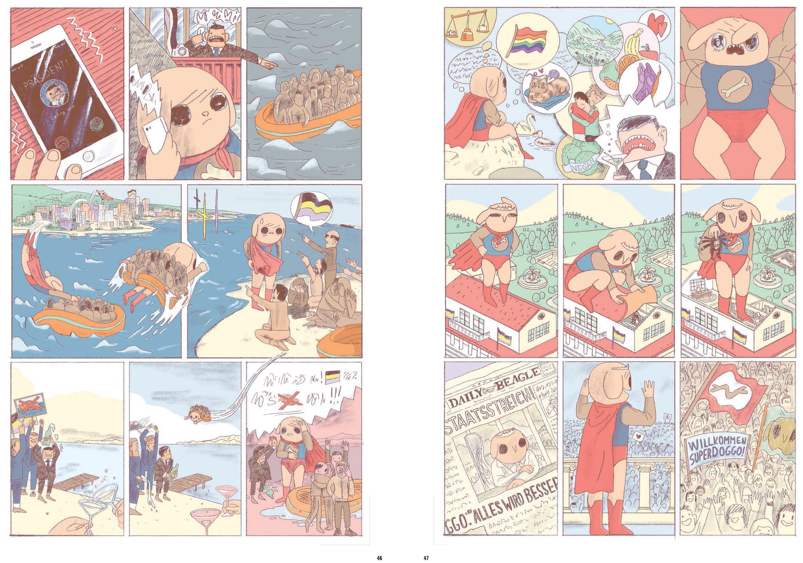 Superdoggo-Comic