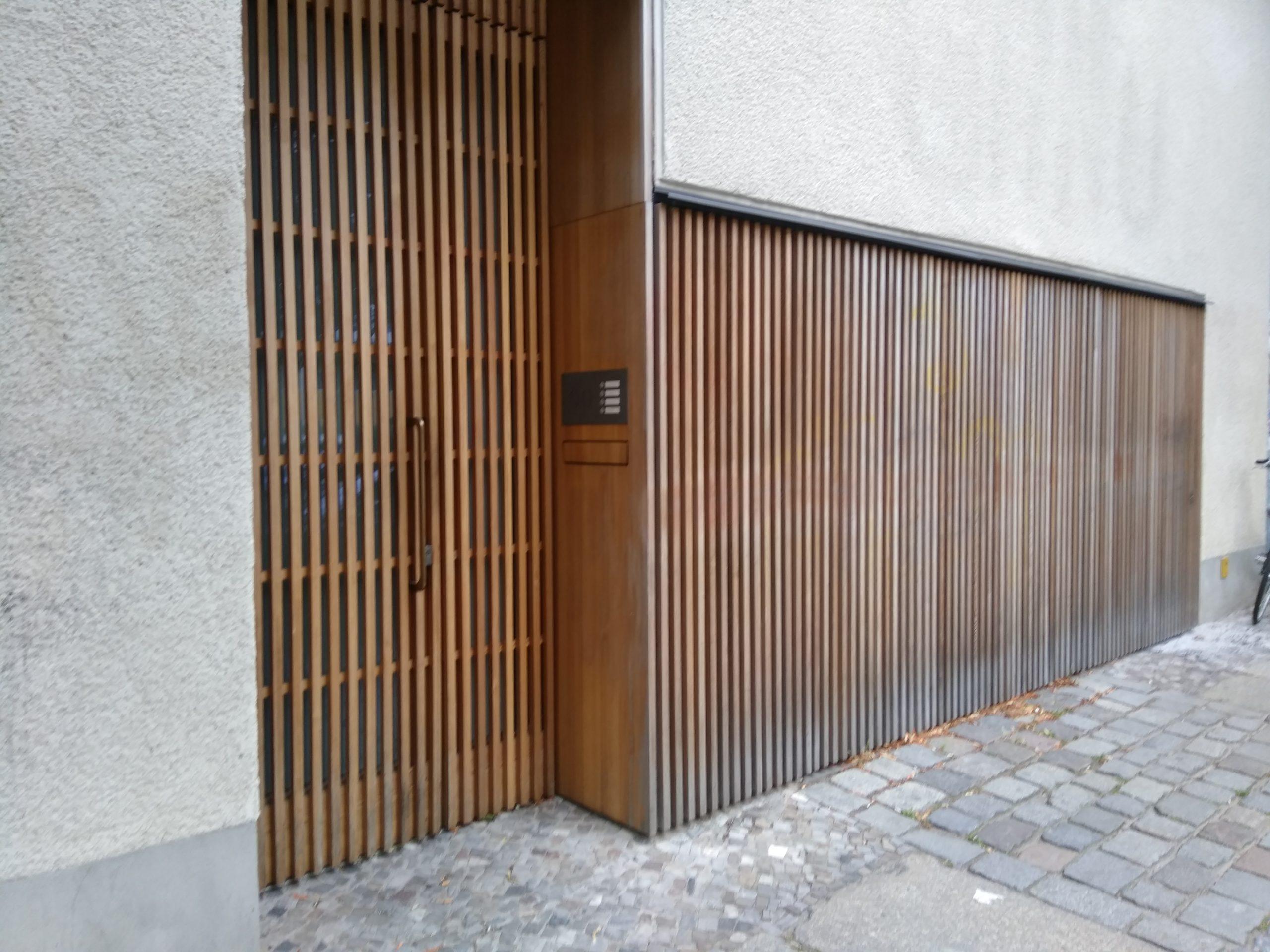Eingang Atelier Ikemura